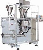 Автомат модели «Оmag С3» с несколькими дозаторами для упаковки различных типов продуктов: легкосыпучих, гранулированных
