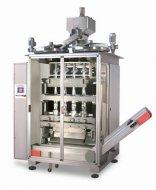 Автомат с объемным дозатором для формирования больших «стик-пакетов» для гранулированных и сыпучих продуктов — телескопические чашки