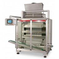 Многодорожечный вертикальный упаковочный автомат модели «ОМАГ СS» для фасовки гранулированных продуктов в «СТИК-пакет»